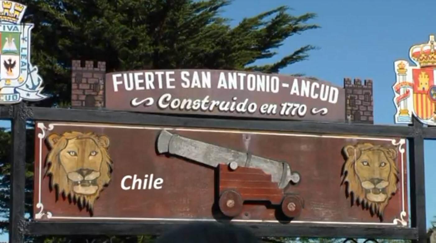 como llegar al fuerte san antonio en chiloe
